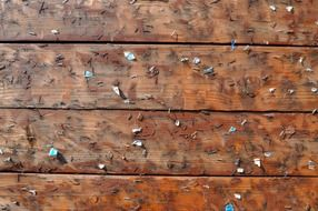 panel wood planks wooden nails