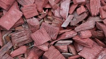 background with wood chips