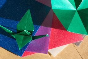 colored paper for origami