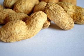 food health vitamins broun peanuts