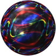 ball with colorful lines