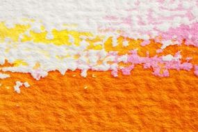 texture of colored handmade paper