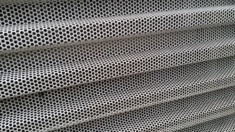 holes sheet folded perforated