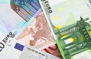 multicolored euro banknotes