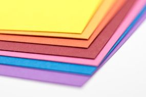 colored paper for creativity