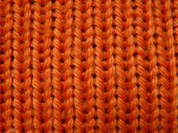 Brown pattern of wool