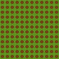 green patterned christmas paper