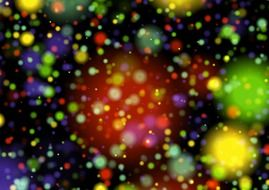 background bokeh magic light colorful circles