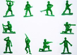 symbol army soldiers toy figures