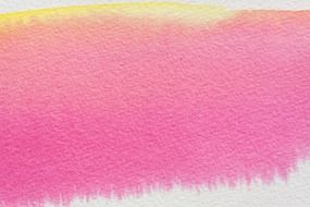 watercolour painting pink color