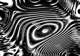 wave interference abstract lines