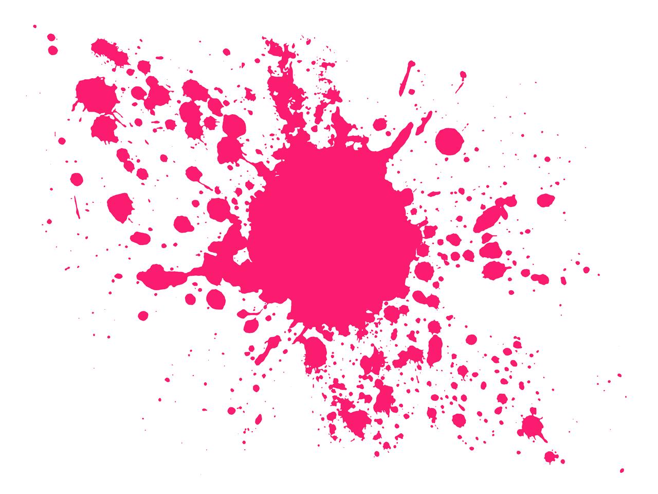 pink paint splatter clip art n3 free image