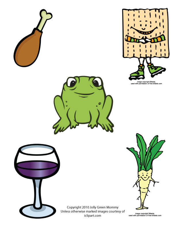 Passover Symbols Clip Art N2 Free Image