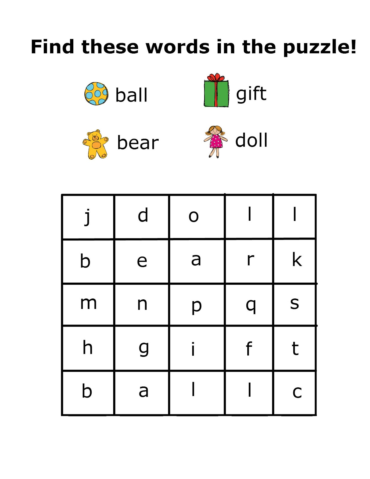 graphic regarding Kindergarten Word Search Printable named Free of charge Printable Kindergarten Term Look Puzzles cost-free impression