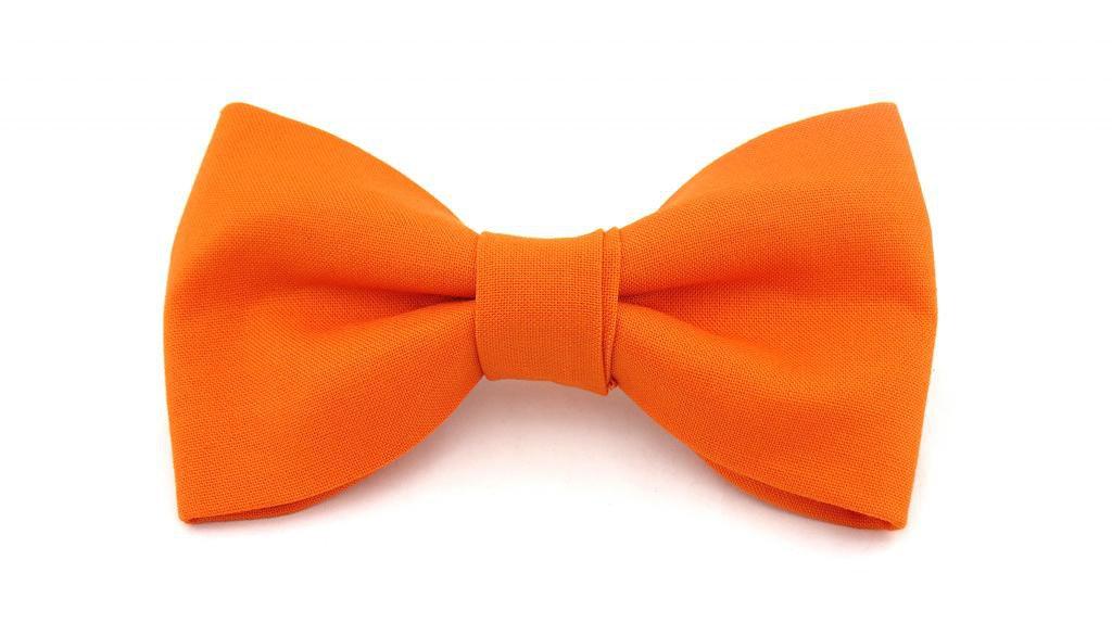 Orange Bow Tie Drawing Free Image