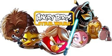 mix of Angry birds and Star Wars