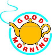 Good Morning cup Clip Art drawing
