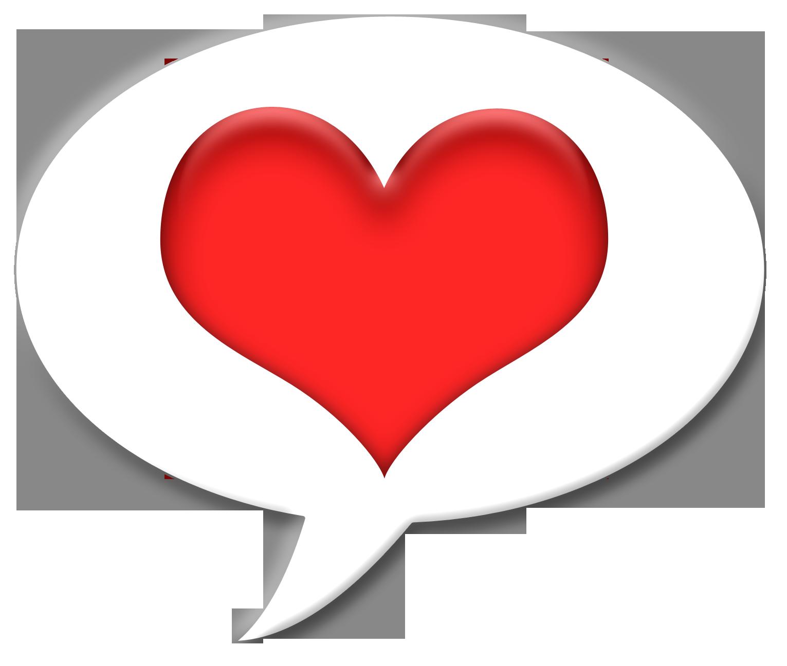 Рисунок сердечка на белом фоне