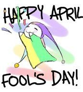 Colorful Happy April Fool's Day! clipart