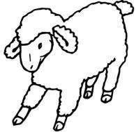 cartoon lamb