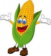 animated corn