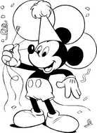 Disney Mickey Mouse darwing