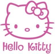 pink Hello Kitty drawing