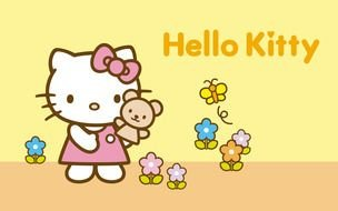 Hello Kitty poster drawing