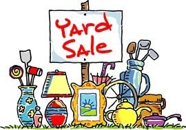 poster for yard sale