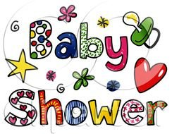 Clipart of Baby Shower