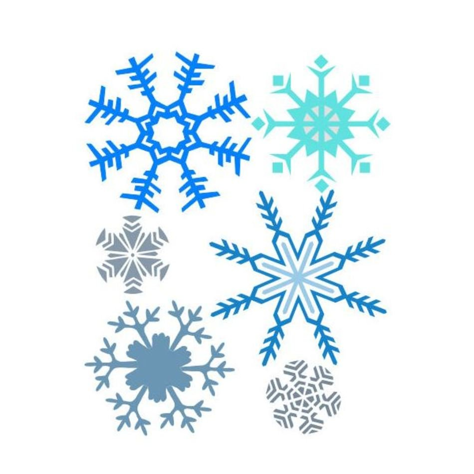 photograph relating to Free Printable Snowflakes identify Totally free Printable Snowflake Templates free of charge picture