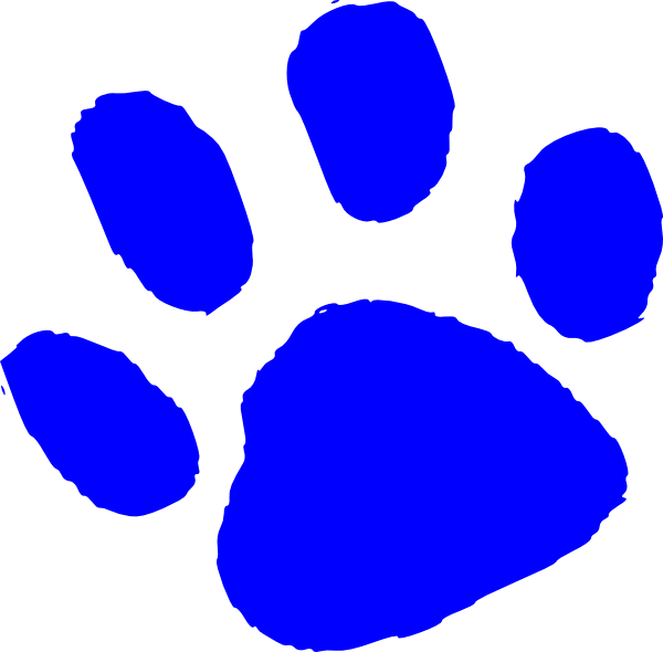 blue tiger paw print clip art free image rh pixy org tiger paw clipart black and white tiger paw clipart black and white