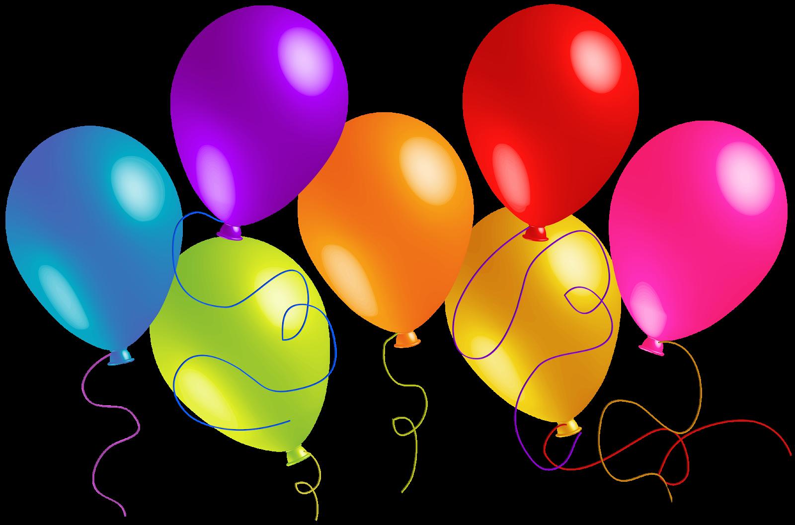 HAPPY BIRTHDAY BALLOONS CLIP ART FREE N27