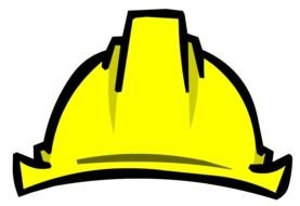 Hard Hat Clip Art drawing