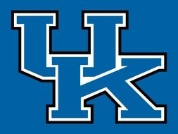 University Of Kentucky Wildcats banner drawing