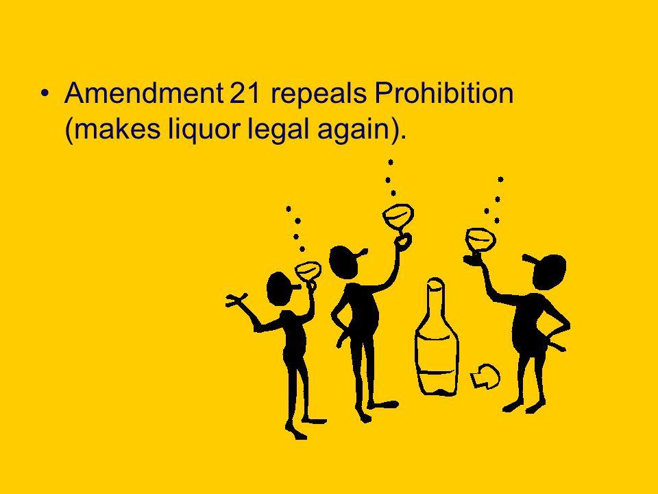 21 Amendment Clip Art free image