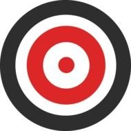clipart of the Target symbol