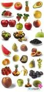 clipart with fruits and vegetables