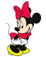 cute Minnie Mouse darwing
