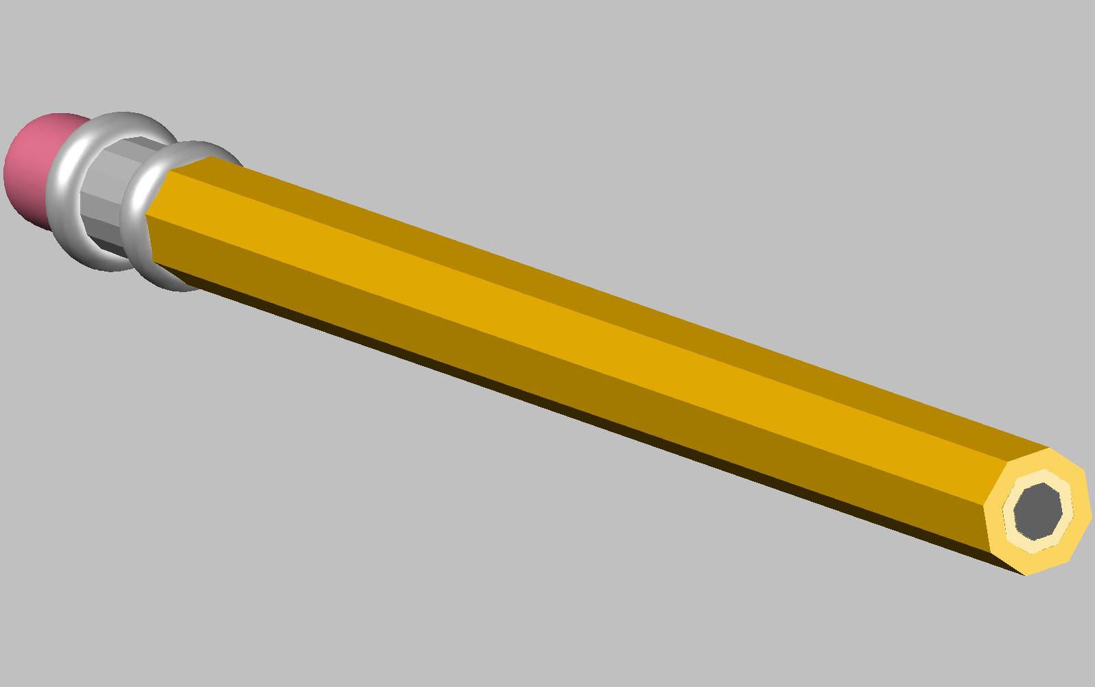 Unsharpened Pencil Clipart Unsharpened Pencil Cli...