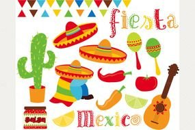 image of mexican fiesta
