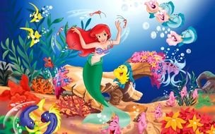 Clip art of Little Mermaid Disney