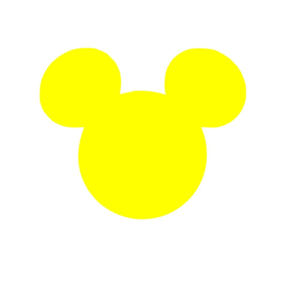 MICKEY MOUSE EARS SILHOUETTE CLIP ART
