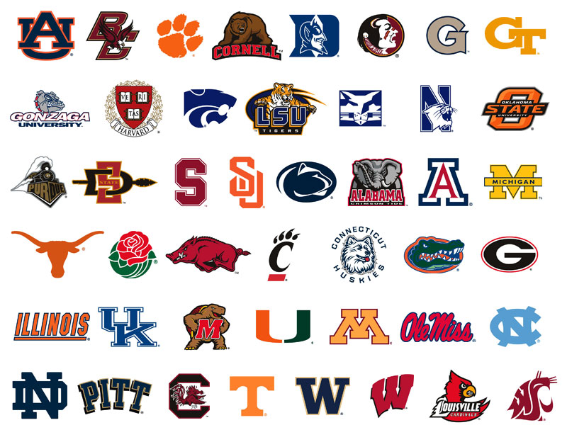 College Logos And Names