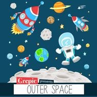 Outer Space Clip Art N8