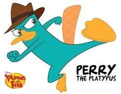 Secret Agent Perry drawing