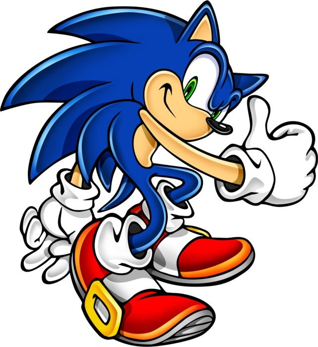 Draw Sonic Hedgehog Drawing Free Image
