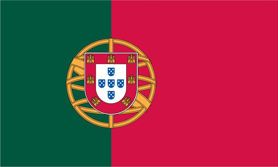 Portuguese Flag, drawing