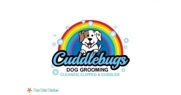 Cuddlebugs Dog Grooming clipart