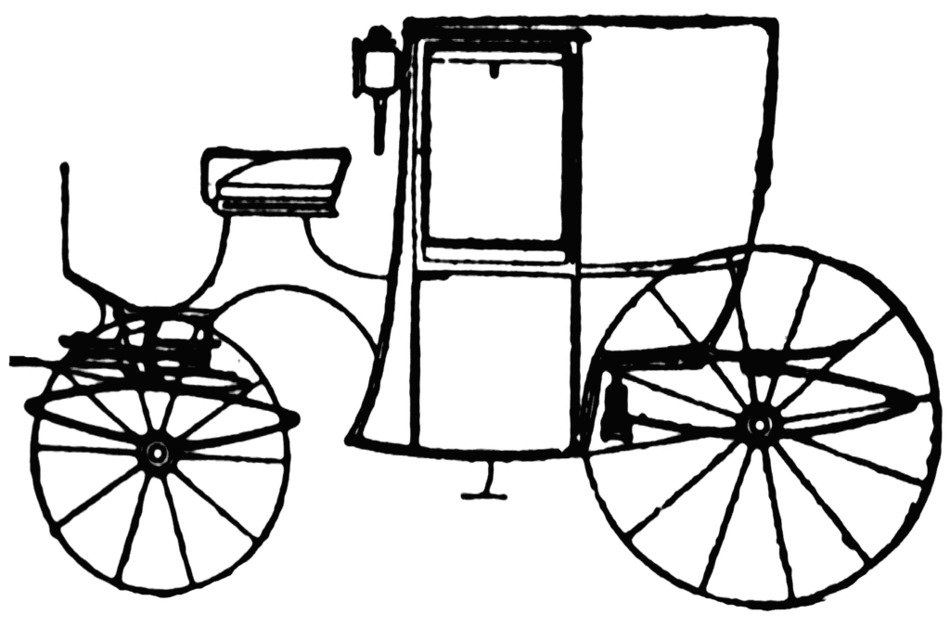 Horse Drawn Carriage drawing